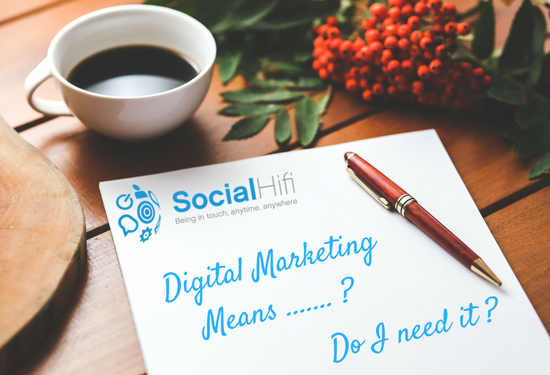 Geting to Know Digital Marketing